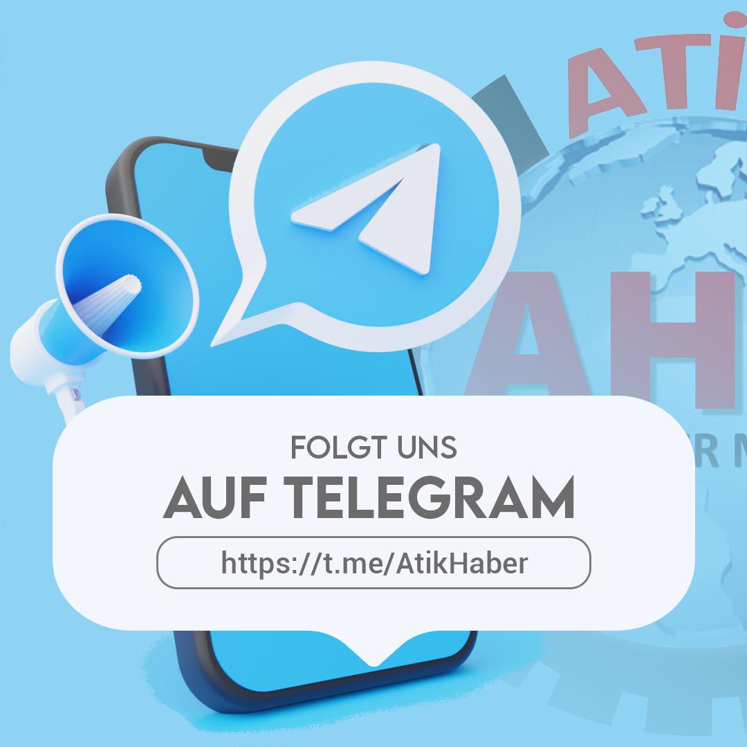 Folgt uns auf Telegram