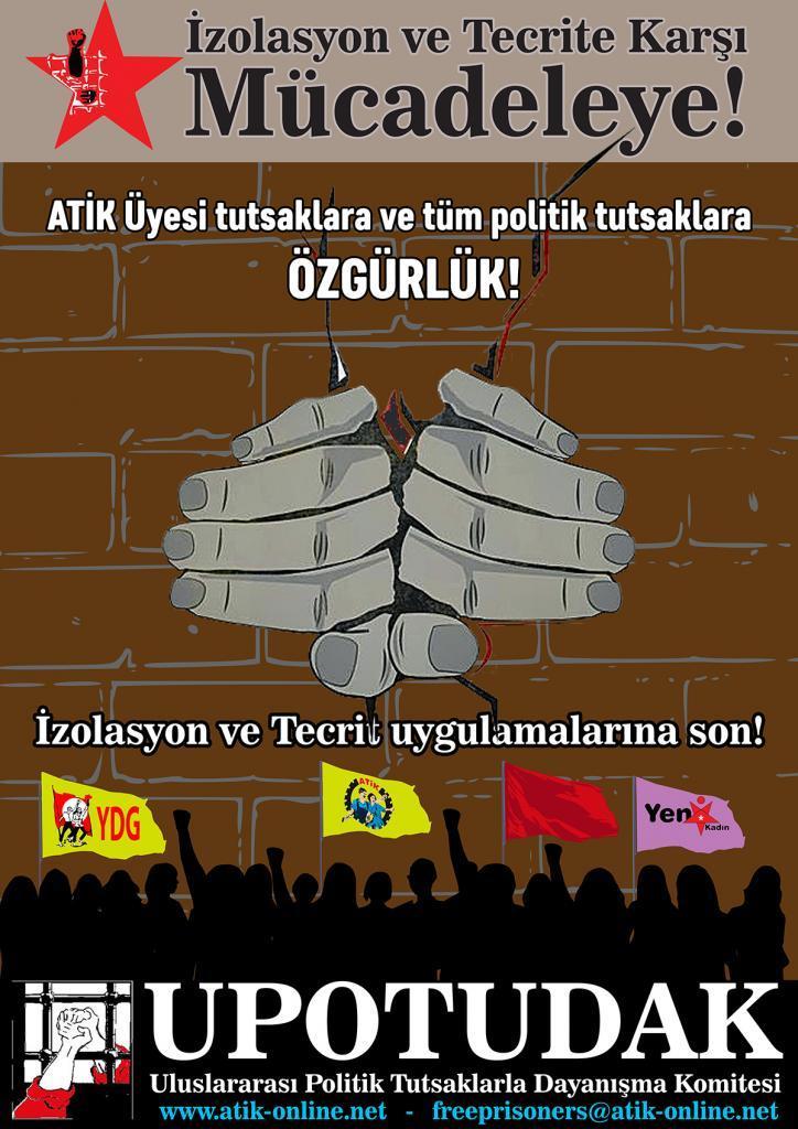 UPOTUDAK : Stop isolation torture of revolutionary prisoners!