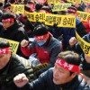 Güney Kore'de genel grev sesleri