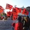 Duisburgta Kobane İçin Eylem
