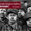 Maden ocağında, göçük altında  kalan işçiler