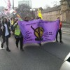 Nürnberg'de 25 Kasım Yürüyüşü