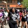 Kenya'da yüzlerce kadın şiddete karşı yürüdü