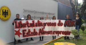 """Meksika Kızıl Blok: """"Almanya faşist TC'nin ortağıdır"""""""
