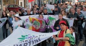 HDP'ye Yapılan Saldırılar Protesto edildi