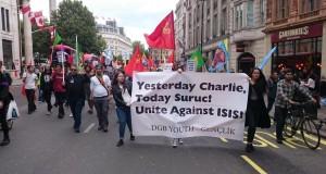 Londra'da Suruç katliamı ve baskılara karşı eylemler devam ediyor