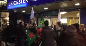 Londra'da: Tren istasyonu işgal edildi