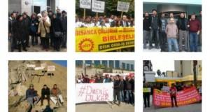 2016'ya Direniş Çadırında Giren İşçiler
