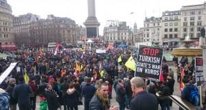 Londra'da 10 bin Kişi Sur ve Cizre İçin Yürüdü