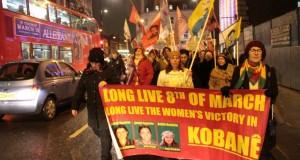 Kürdistanlı ve Türkiyeli Kadınlar 8 Mart Platformu yüryüş ve panel düzenledi