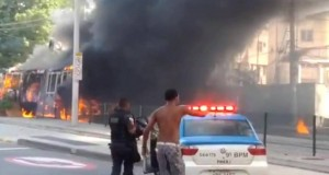 Brezilya'da polis şiddetine karşı eylem
